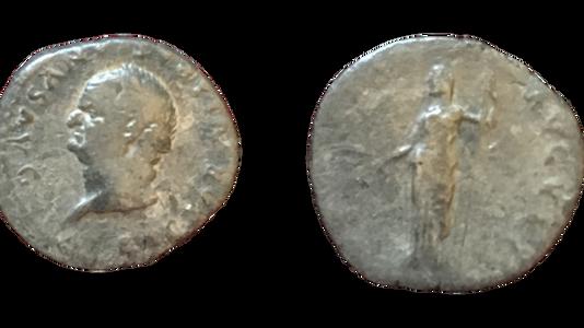 Vespasian AR Denarius 77-78