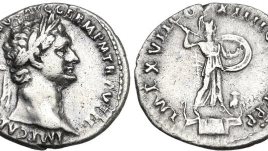 Domitian AR Denarius 88-89 CE                                        RIC 658