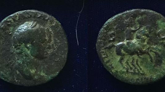 Vespasian AE As 71 CE