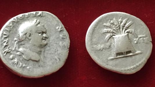 Vespasian Denarius 77-78 CE