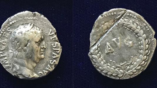 Vespasian AR Denarius 69-70 CE