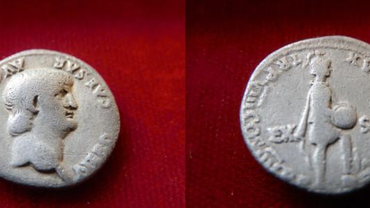 Nero Denarius 54-68 CE
