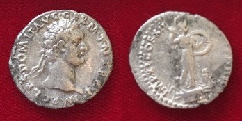 Domitian Denarius 86 CE (First Issue)