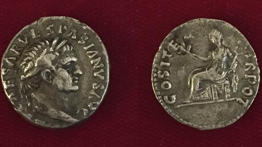 Vespasian AR Denarius 70 CE