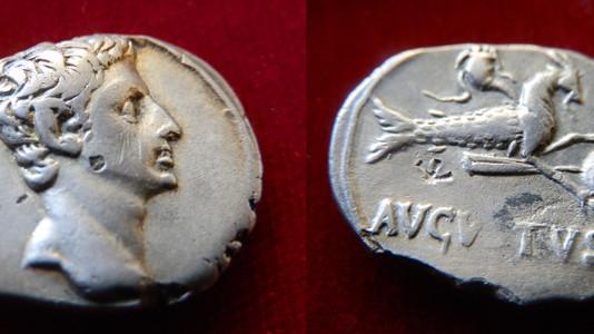 Augustus Denarius 27 BCE-14 CE
