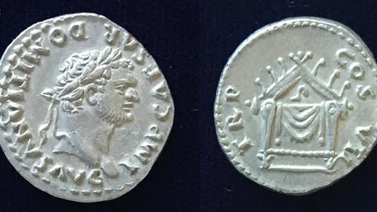 Domitian AR denarius 81 CE