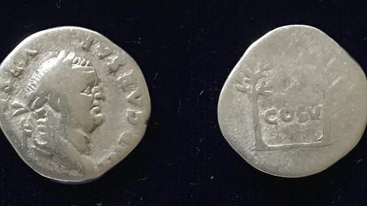 Vespasian AR Denarius 74 CE