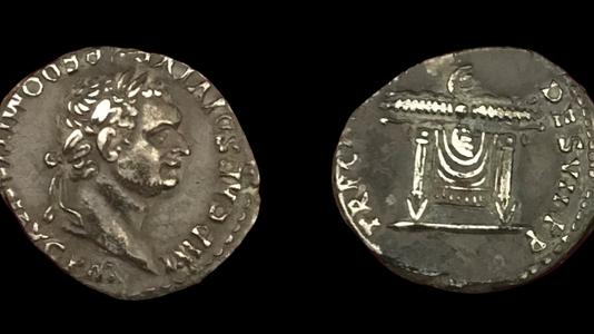 Domitian AR Denarius (81 CE)  (Group 4)