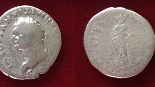Domitian AR Denarius                      79 CE to June 24