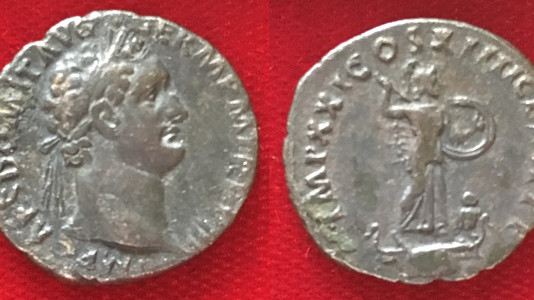 Domitian AR Denarius 88-89 CE (Sixth Issue)