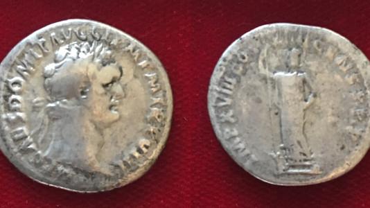 Domitian AR Denarius 88-89 CE Third Issue