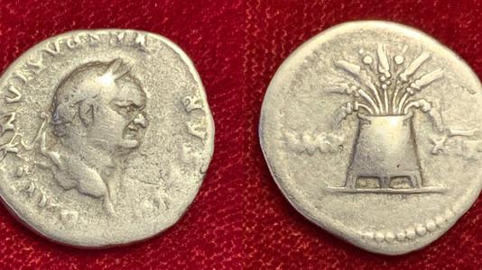 Vespasian AR Denarius 77-78 CE                                        RIC 980