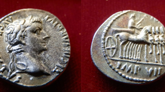 Tiberius Denarius 14-37 CE