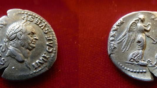 Vespasian Denarius 69-79 CE