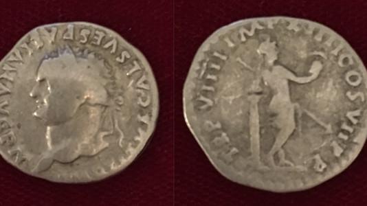 Titus AR Denarius 79 CE After July 1