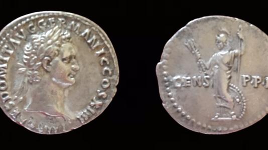 Domitian AR Denarius 88 CE    (Group 2 C)