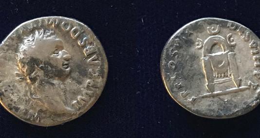 Domitian AR Denarius 81 CE     (Group 4)