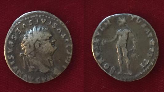 Titus AR Denarius 79-80 CE