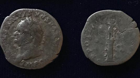 Vespasian AR Denarius 79 CE