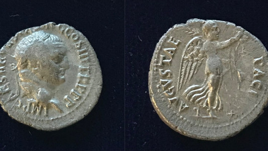 Vespasian AR Denarius 71 CE  (Group 5)