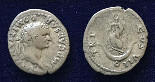 Domitian AR Denarius 81CE