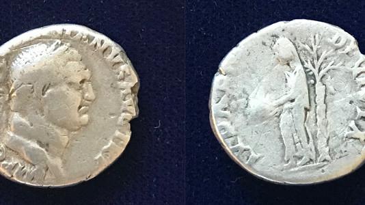 Vespasian AR Denarius (71 CE)
