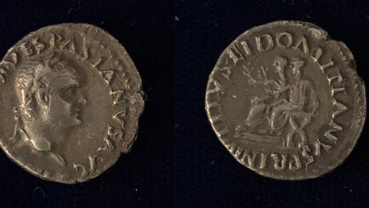 Vespasian AR Denarius 69-70