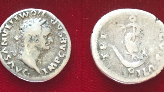 Domitian AR Denarius 81 CE (First Issue)