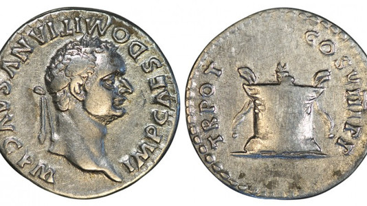 Domitian Denarius 82 CE (First Issue)