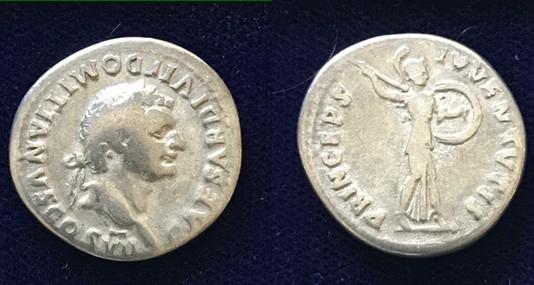 Domitian AR Denarius