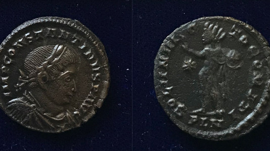 Constantine the Great Follis  (312-313 CE)