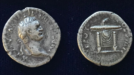 Domitian AR Denarius 82 CE (First Issue)
