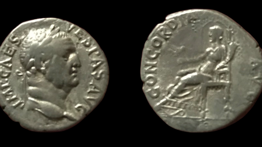 Vespasian AR Denarius 69-70 CE (Group 2)