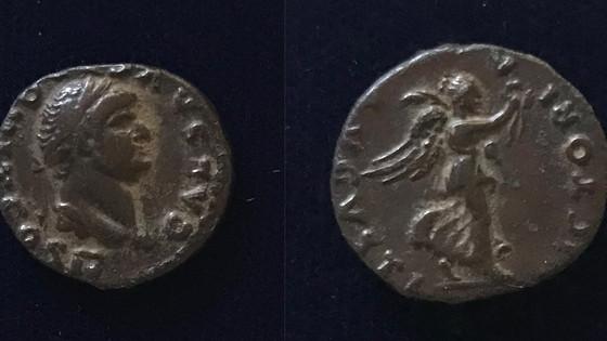 Domitian AR Quinarius 73 CE