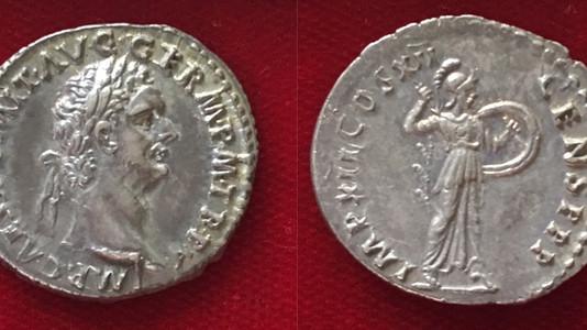 Domitian AR Denarius 86 CE (Second Issue)