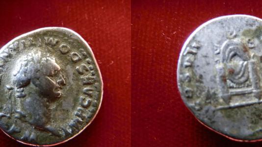Domitian Denarius 81 CE