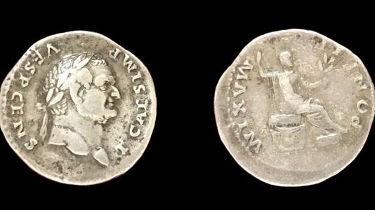 Titus AR Denarius (73 CE) (Group 3)