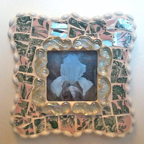 Garden Party Mosaic Frame