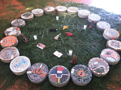 Mosaics set for inauguration