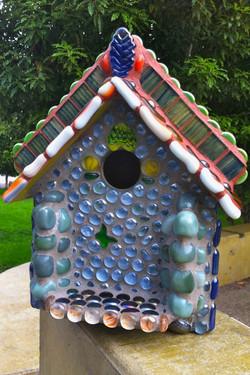 Mosaic Birdhouse