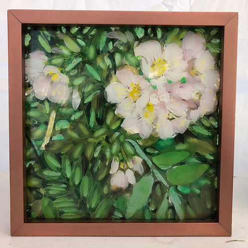 """Wildflower"" original mosaic light painting"