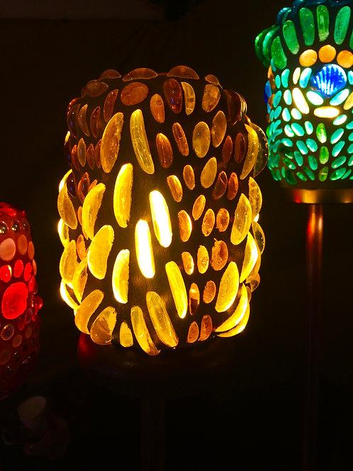 Golden Torch Lamp