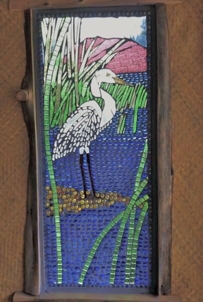 Facebook - Egret--At the old Cafe La Puerta on the lakeside below the present lo