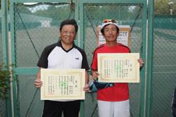 新座市民総合体育大会硬式テニスの部男子(over55)
