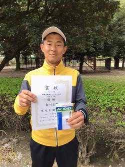 春季シングルス大会一般男子上級コンソレ