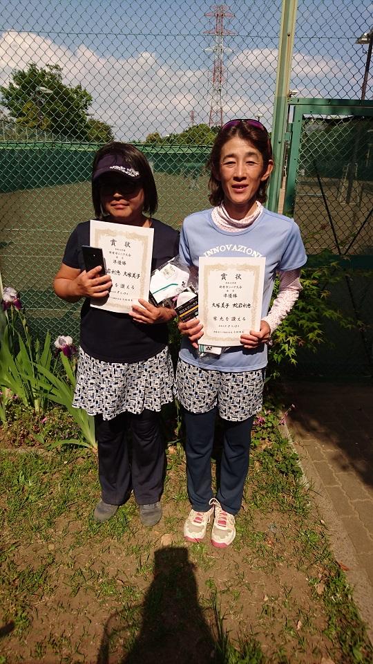2019年度  新座市シニアダブルステニス大会 女子リーグ