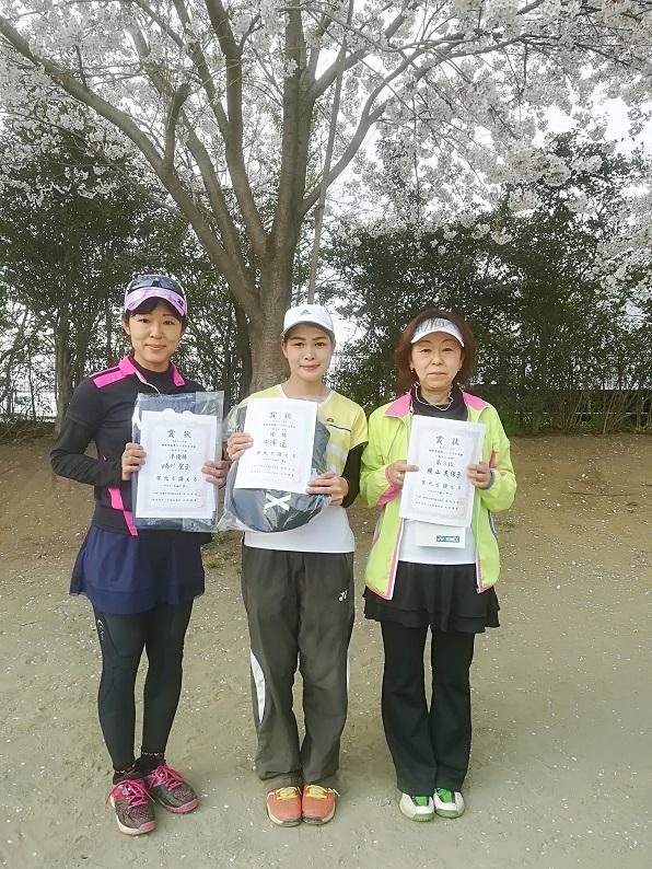 春季シングルス大会 一般女子中級