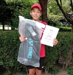 優 勝:永井 蒼大くん(新豊TC)