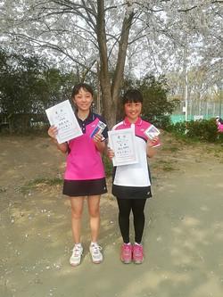 春季シングルス大会 一般女子初級コンソレーション