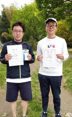 春季シングルス大会一般男子初級コンソレ